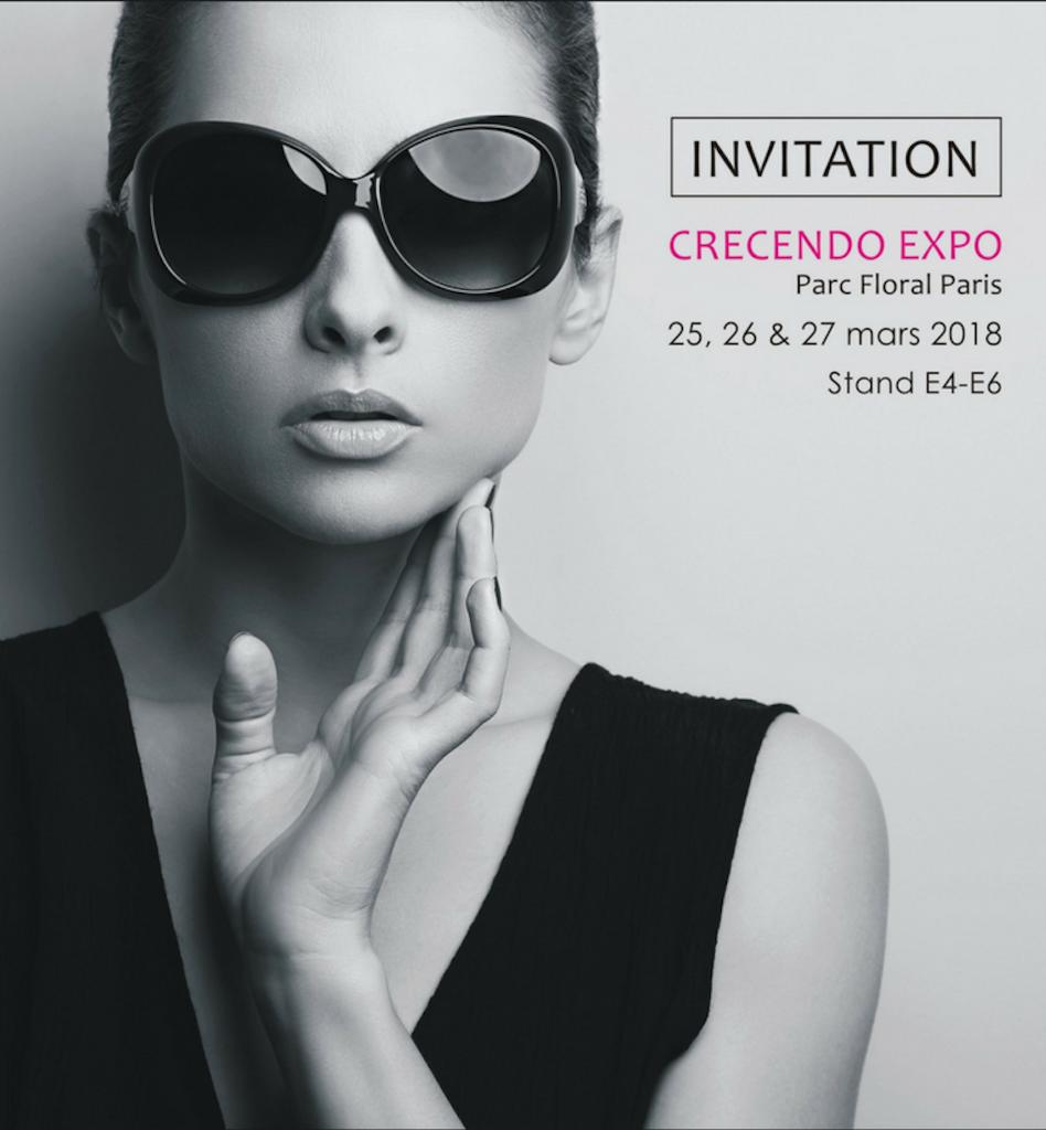 INVITATION CRECENDO EXPO PARC FLORAL